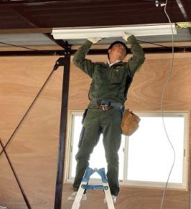 君津で電気設備工事を行いました。