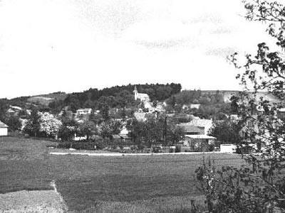 Hörersdorf: Ansicht westlich von Hörersdorf - Foto von Leopold Zieger