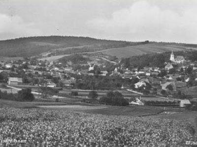 Hörersdorf: Ansicht westlich von Höeresdorf - Foto von Leopold Zieger