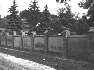 Hörersdorf: Mauer vom Pfarrhof - Foto von Leopold Zieger