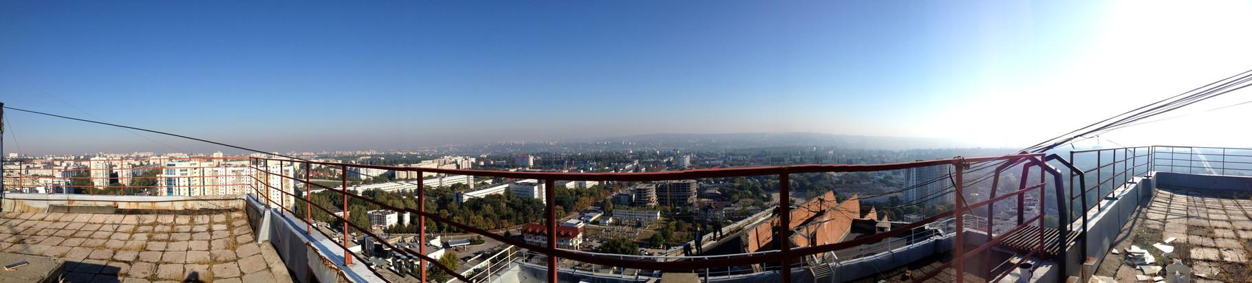 Chisinau - terrace view