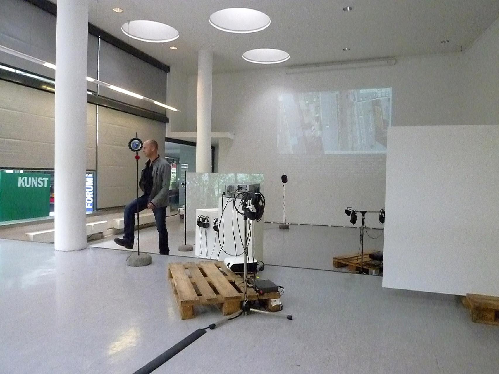 Stadtklang //: Hörorte - Impressionen der Ausstellung im Forum für Kunst & Architektur