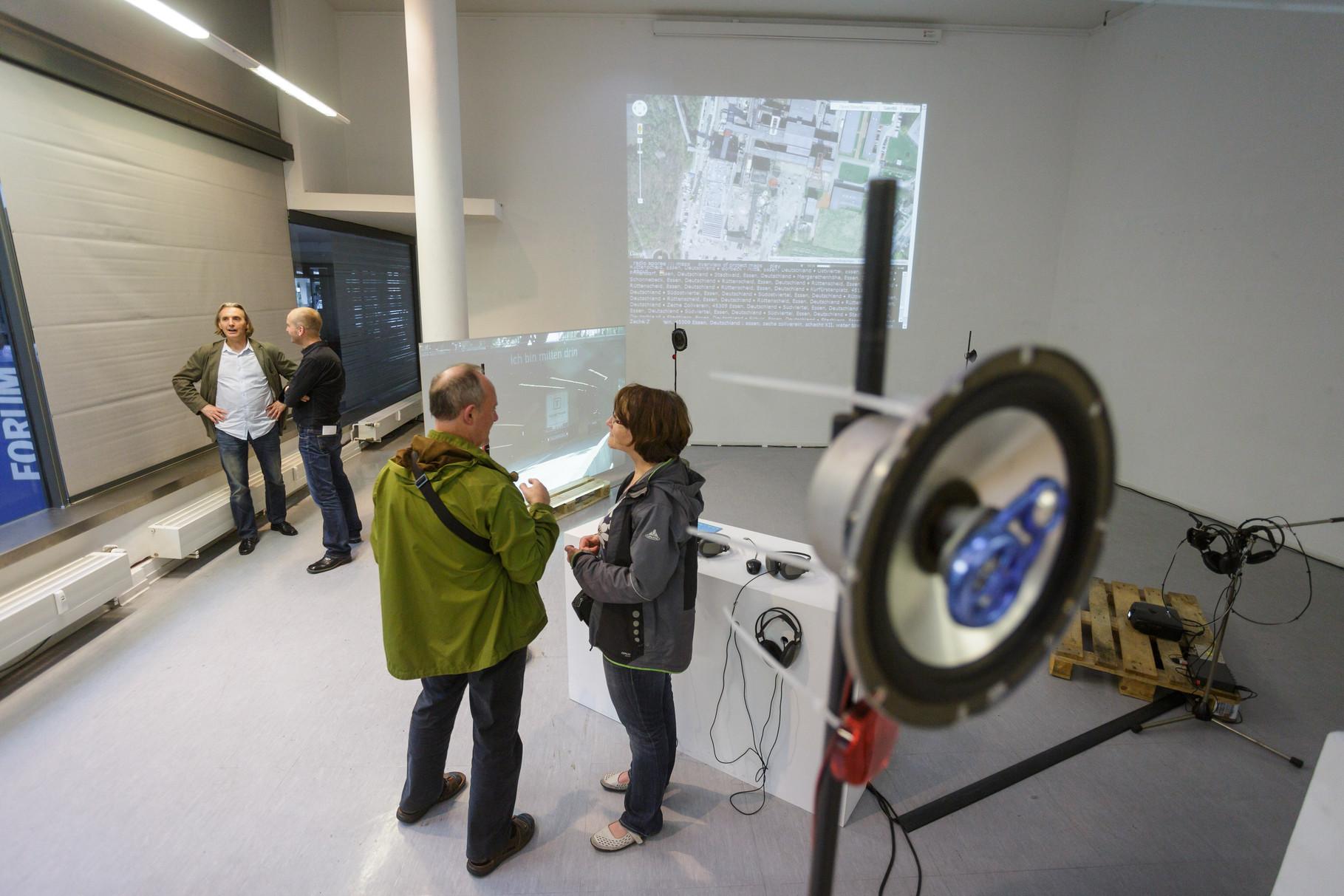 Stadtklang //: Hörorte -  Forum für Kunst & Architektur - EG - Photo: Olaf Ziegler