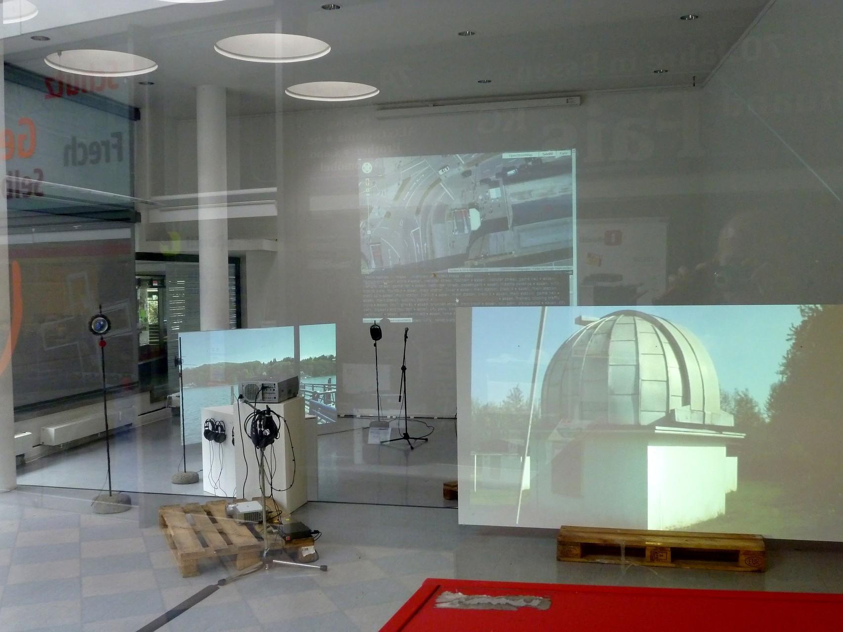 Stadtklang //: Hörorte - Bilder der Ausstellung im Forum für Kunst & Architektur