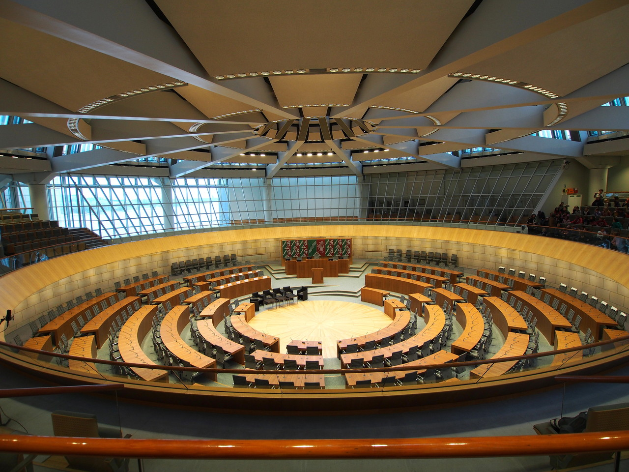 Düsseldorf - Plenarsaal Landtag NRW