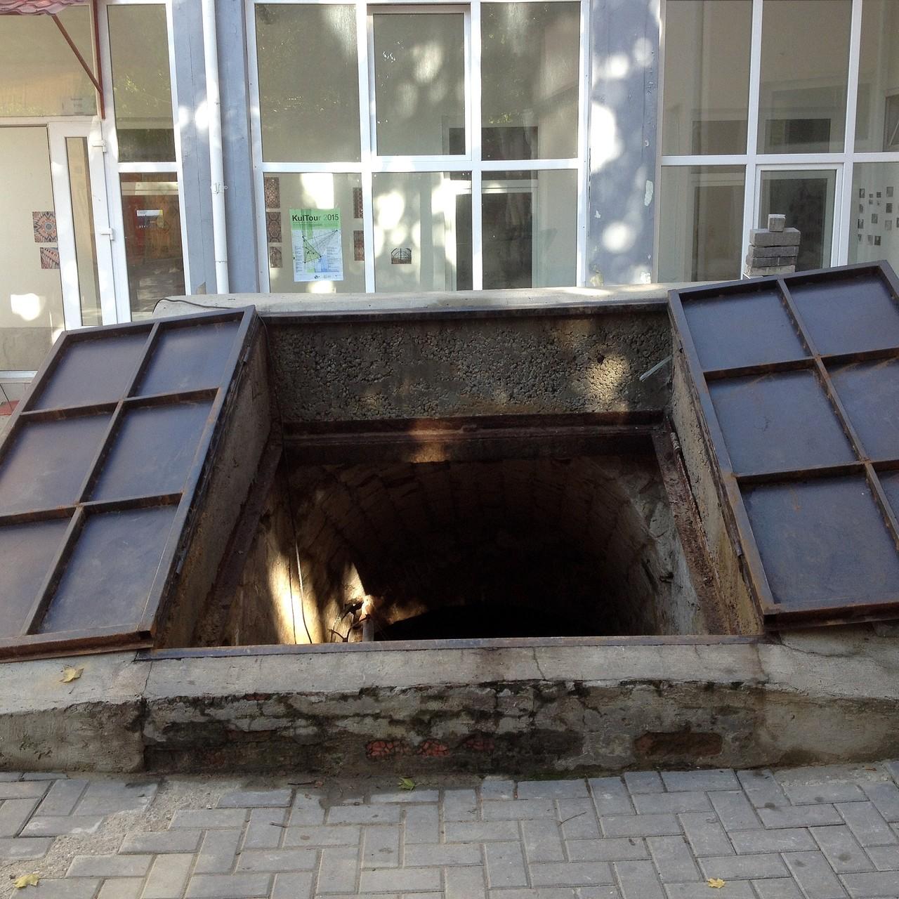 "Chisinau - ""Galerie Podzemka"" - Installation WÄRMEPOL/ idea generator"