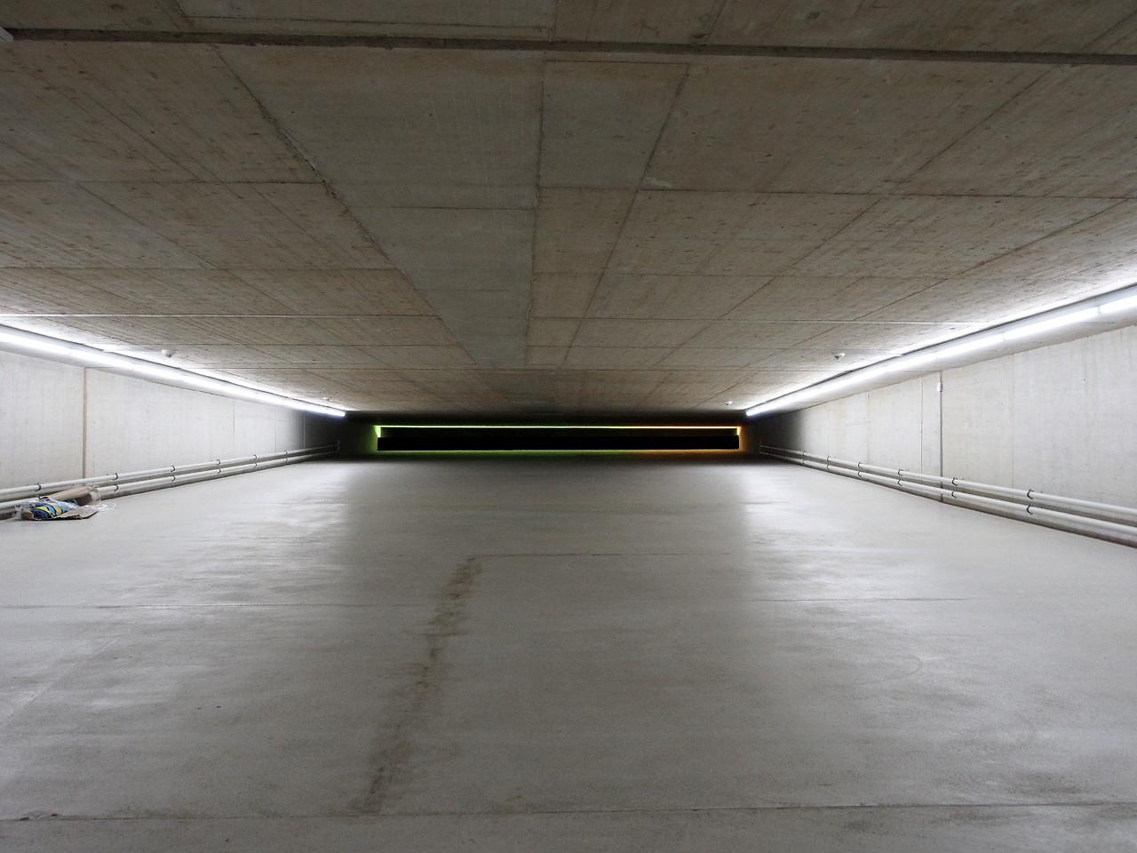 Düsseldorf - Kunst im Tunnel