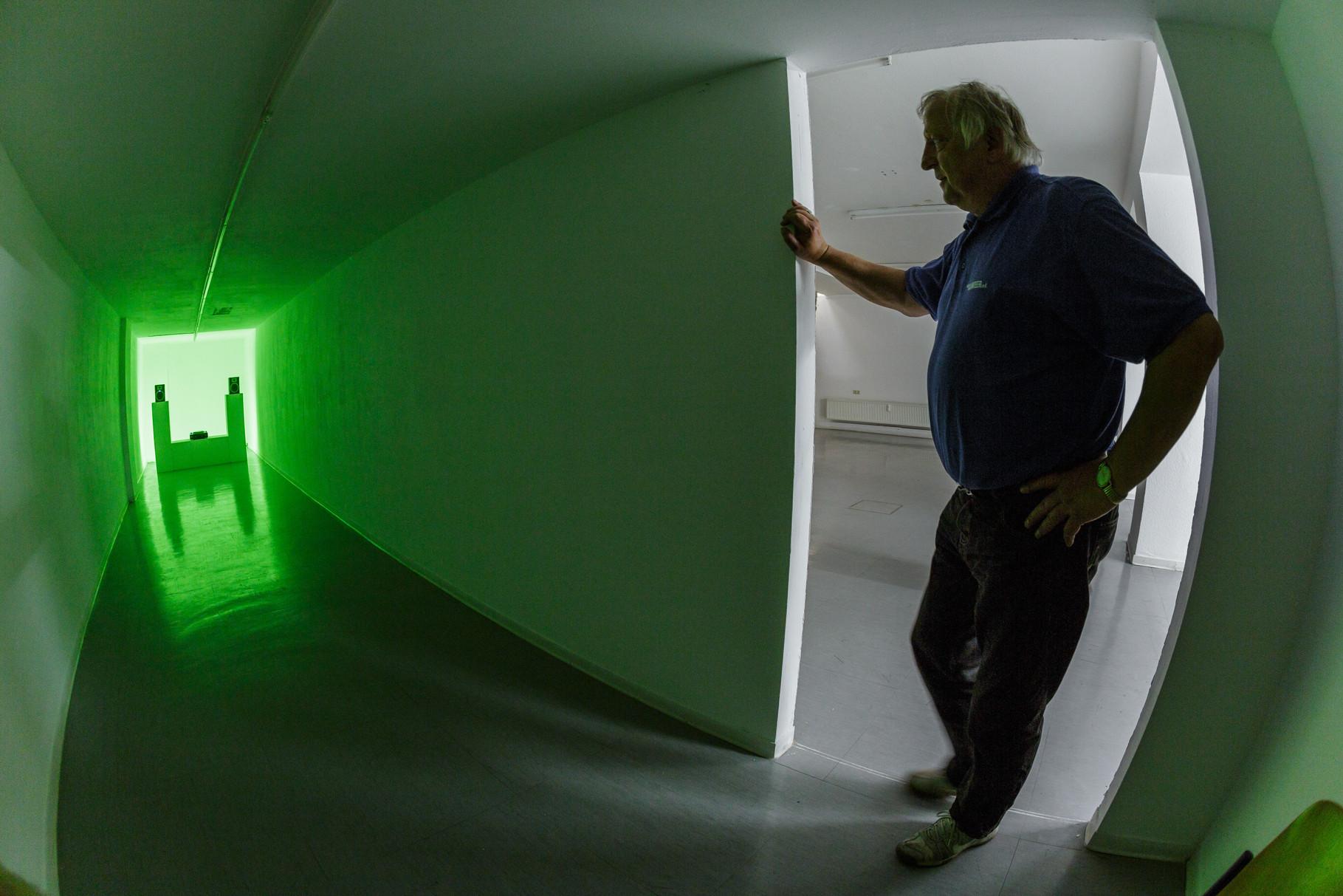Stadtklang //: Hörorte -  Installation Blaue Stunde - Photo: Olaf Ziegler