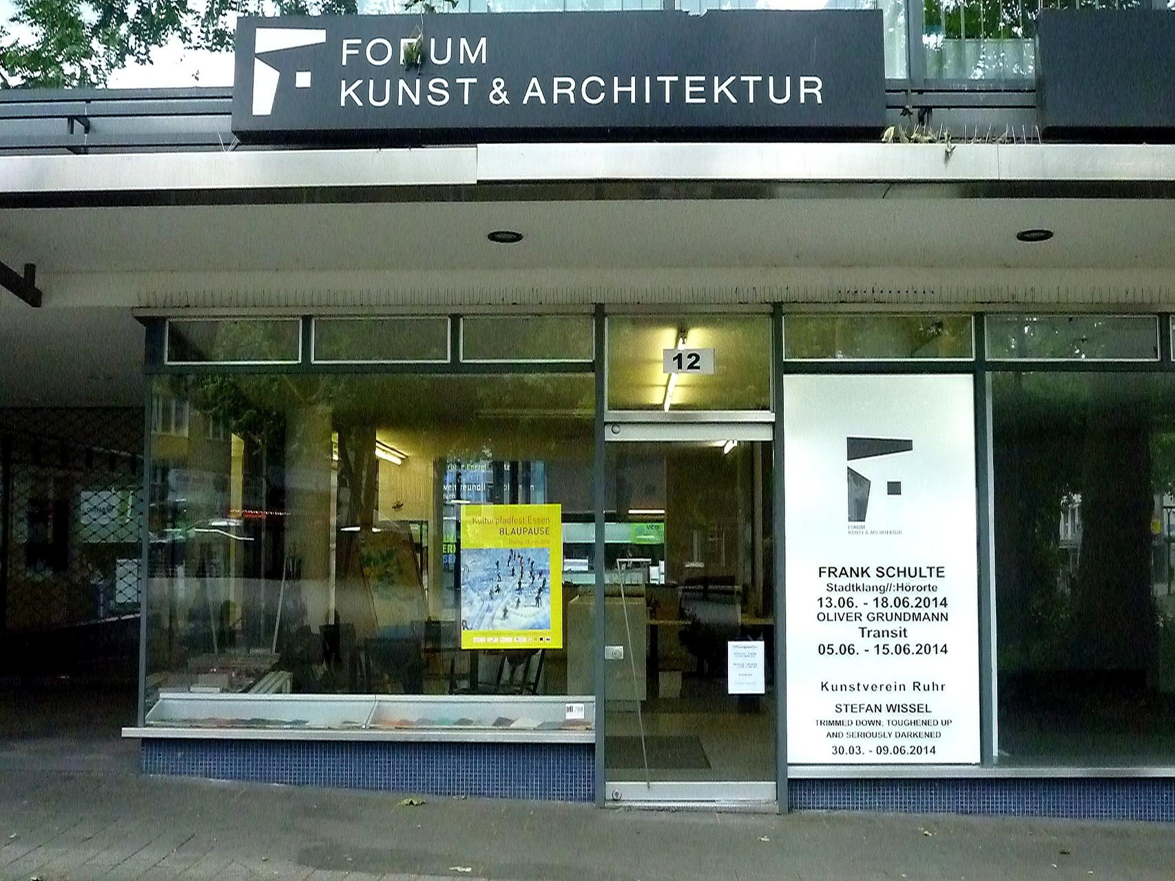 Stadtklang //: Hörorte - Forum für Kunst & Architektur