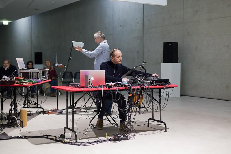 sonic states - konzertante Inszenierung - Photo: Mauric Kaufmann