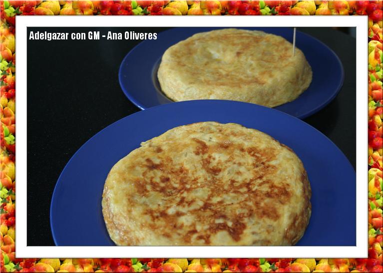 Receta de tortilla de patatas para ollas programables GM