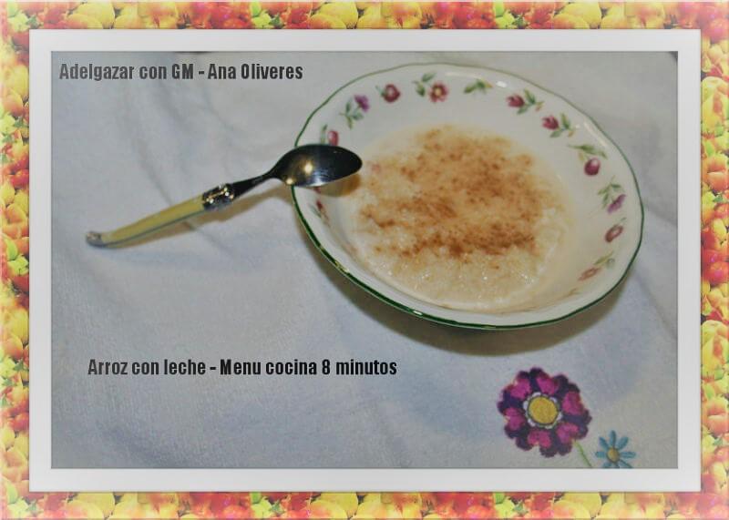 Receta de arroz con leche para ollas programables GM