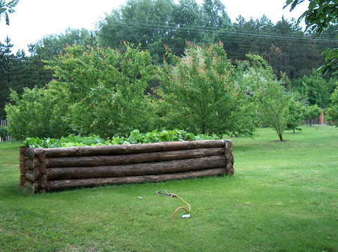 Hochbeet, Obstgarten