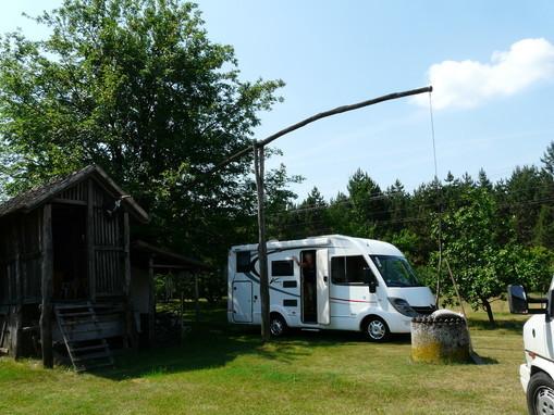 Camping mit Ruhe und Flair