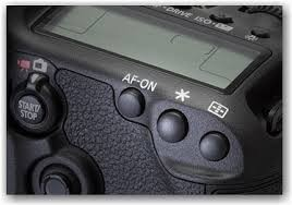 Canon back focus button AF-ON