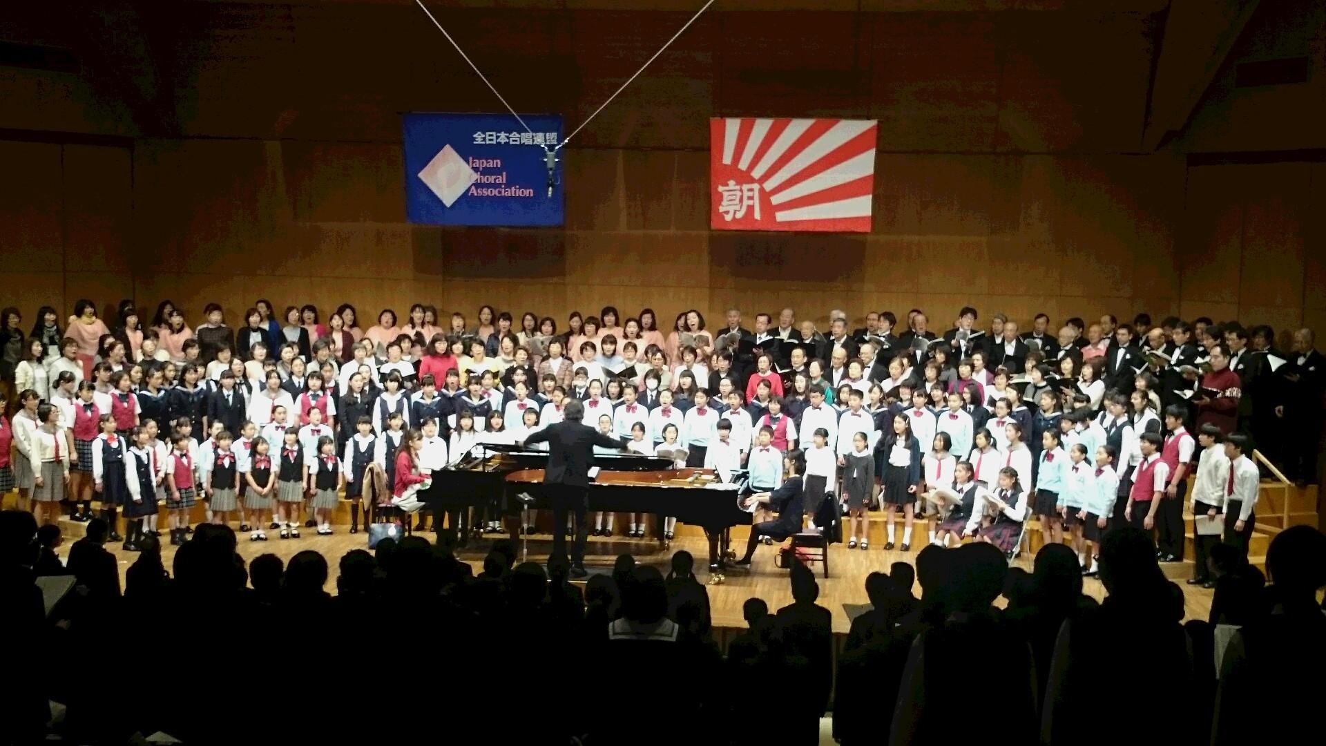 県立音楽堂でジュニア合同演奏