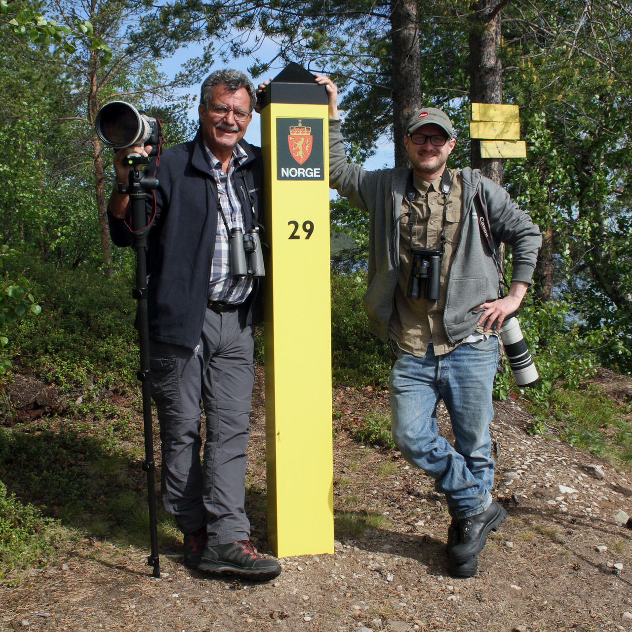Am 23. Juni unternahmen wir eine geführte Tour mit dem Guide Anders Maeland ins südliche Pasvik-Tal