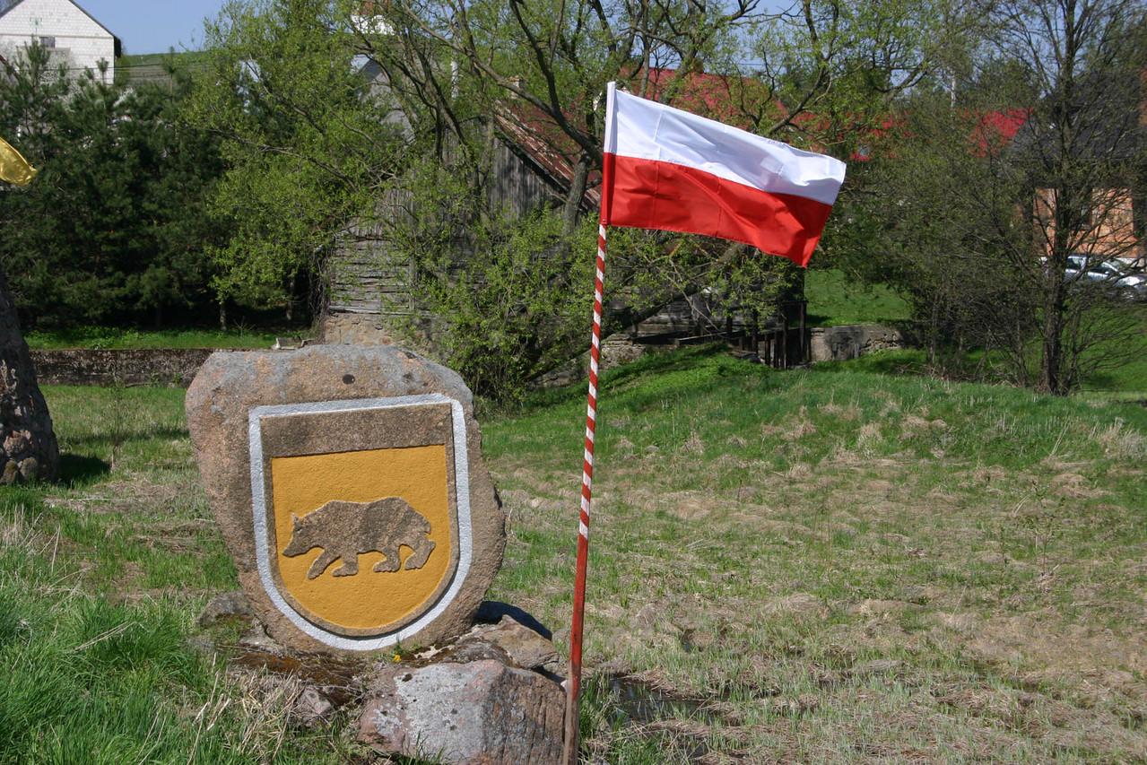 Was macht denn der Berner Bär in Polen? Wappen von Goniadz