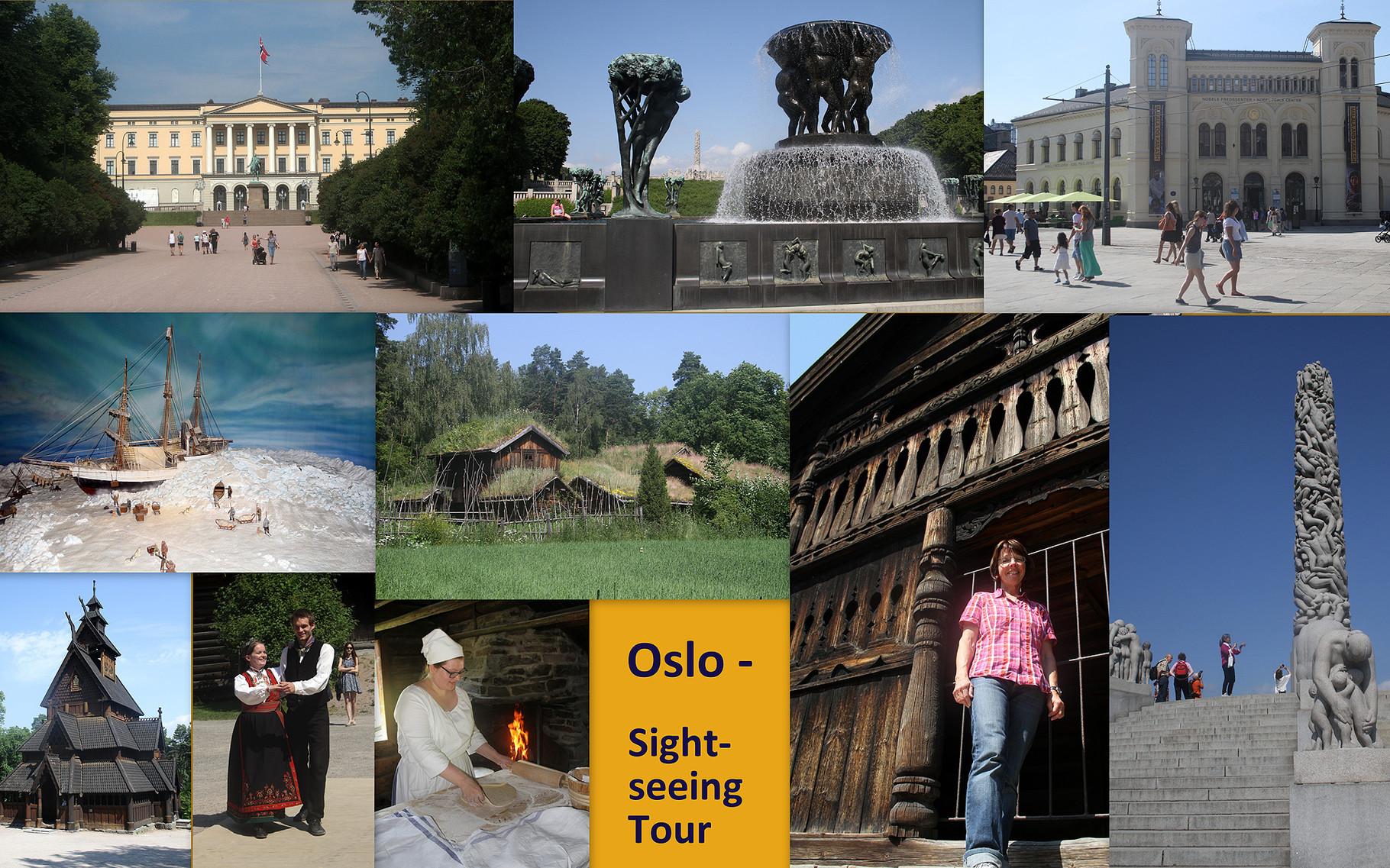 Den letzten Tag der Reise verbringen wir mit Sightseeing im etwas wärmeren Oslo.