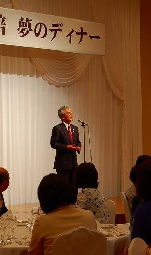 ゲストには弘前市長のお姿も!