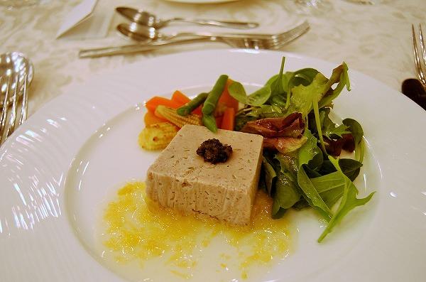 岩城島レモンポークのリェット 愛南ゴールドのソース:愛媛 門田征吾chef