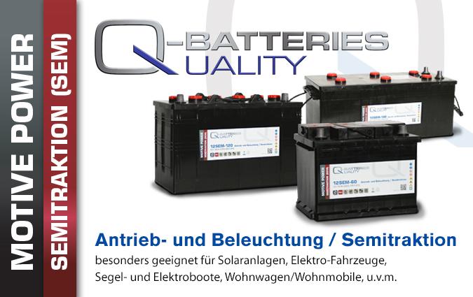 SEM Semitraktions Batterien