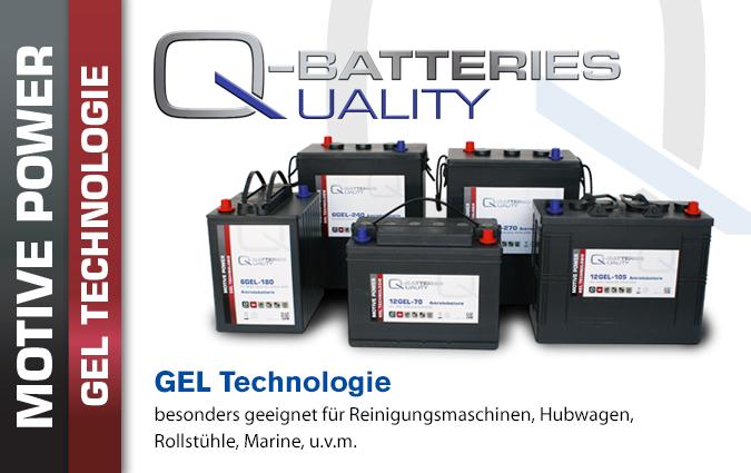 GEL Batterien Zyklisch