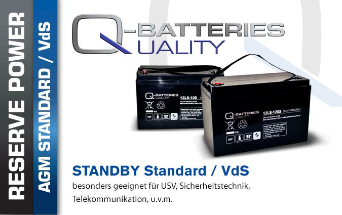 AGM Batterien Standard (VDS