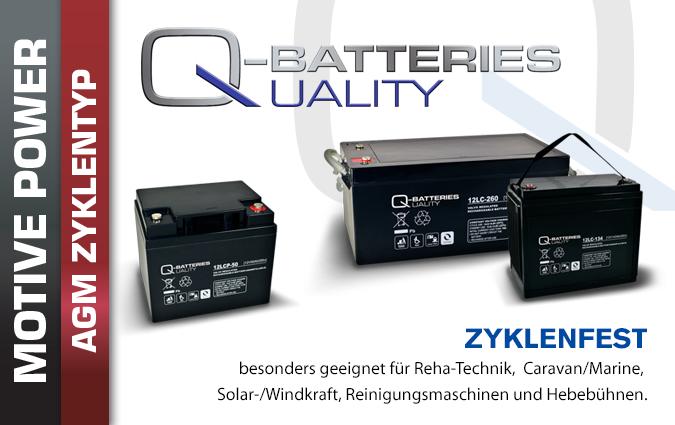 AGM Batterien Zyklisch