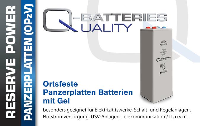 OPzV Blei Gel Batterien