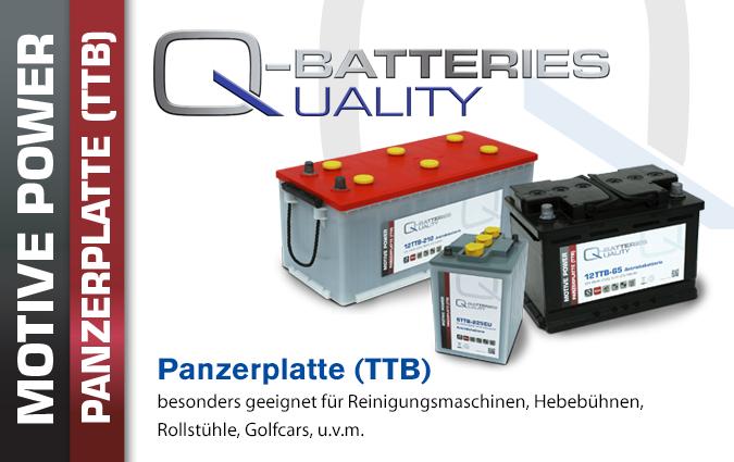 Tubular Panzerplatten Batterien
