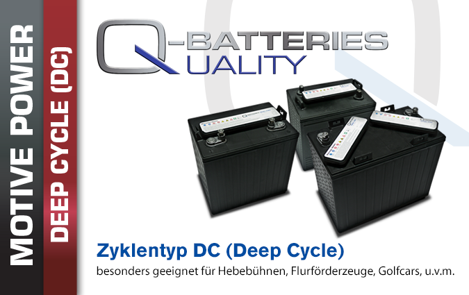 Deep Cycle Säure Batterien