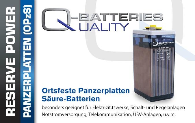 OPzS Blei Säure Batterien