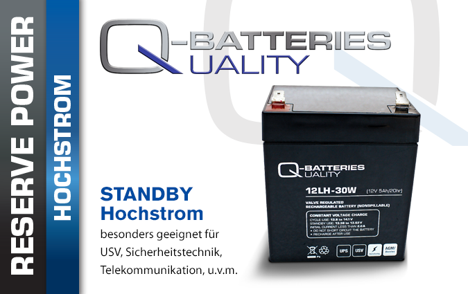 AGM Hochstrom Batterien