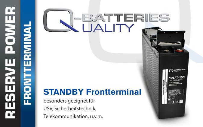 AGM Batterien Frontterminal