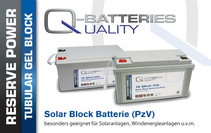 SPzV Solar Block Batterien