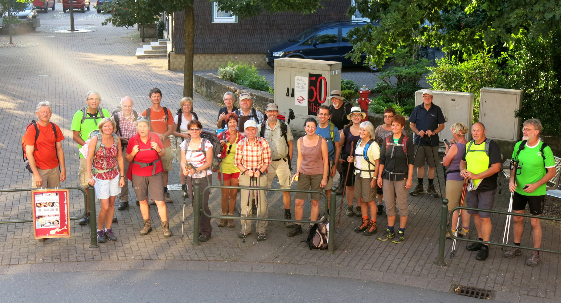 Wandermarathon 2015 - Start in Rimbach