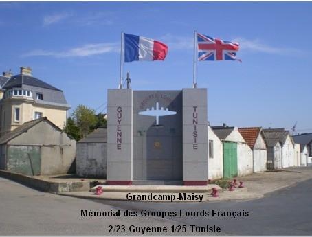 Le mémorial aux Groupes Lourds en France. Page d'acueil du magnifique site de Philippe Ducastelle
