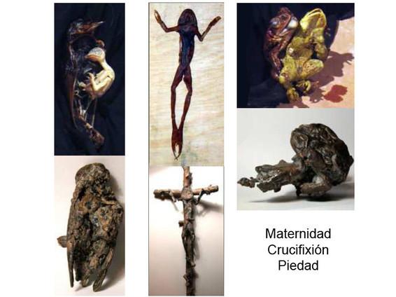 Maternidad, crucifixión, piedad. 2005