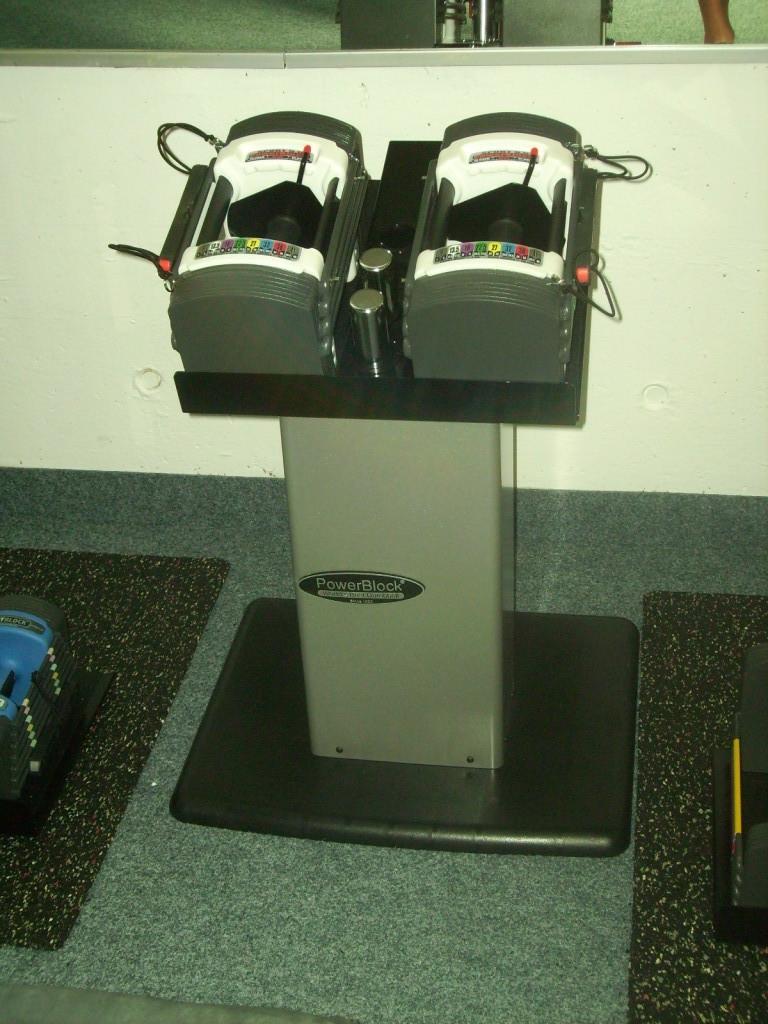 unsere Power-Blocks - Kompakthanteln, deren Gewicht durch einfachste Handhabung veränderbar ist!
