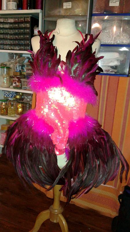ensemble plumes bresilien show