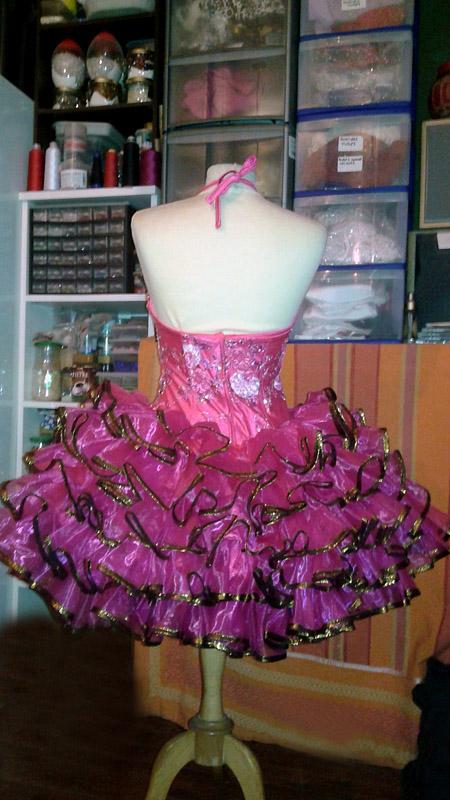 grande robe organza de luxe