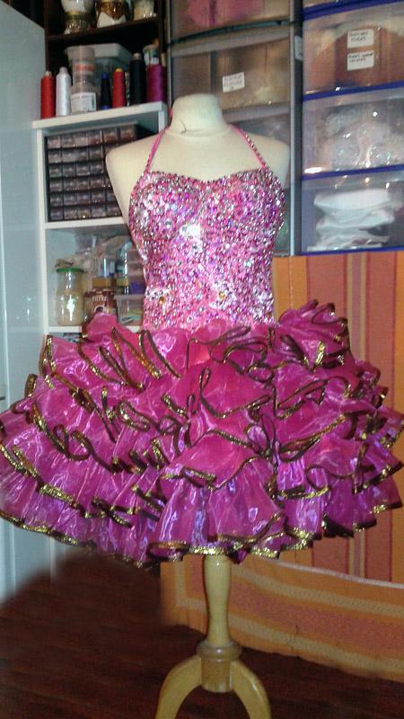 robe organza de prestige