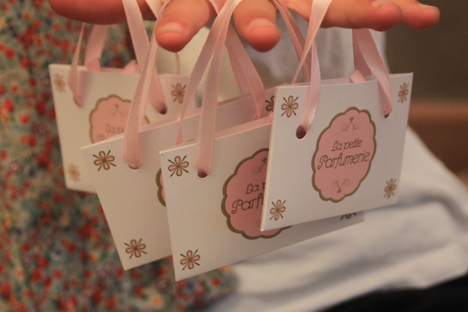 Bags from the little perfumery shop