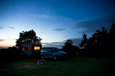 21.08.2011 - Camping Bergwiese in Thüringen