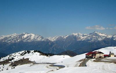 17.04.2011 - Unter dem Jaufenpass - Blick Richtung Osten