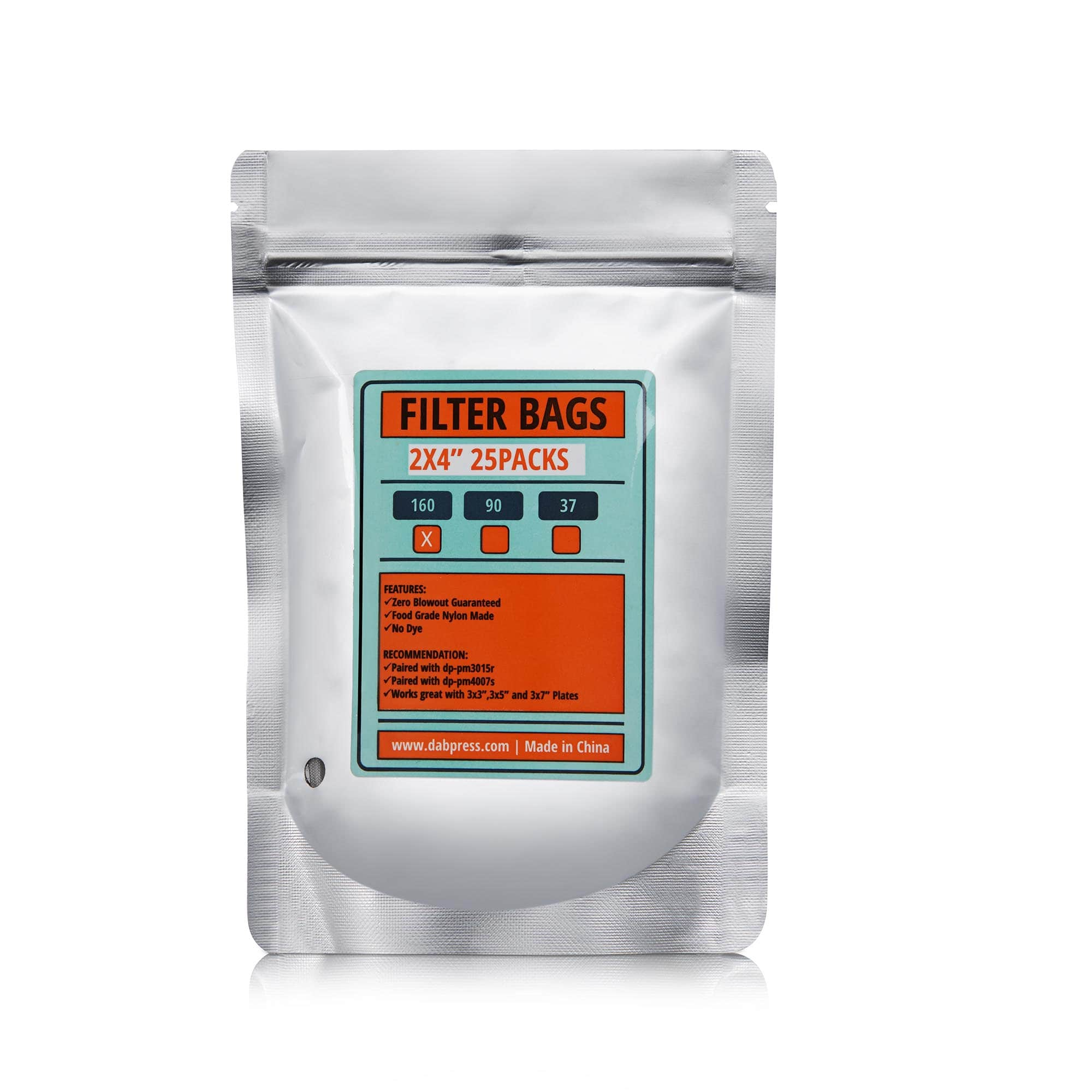 160 Micron   Flower Extraction Bags