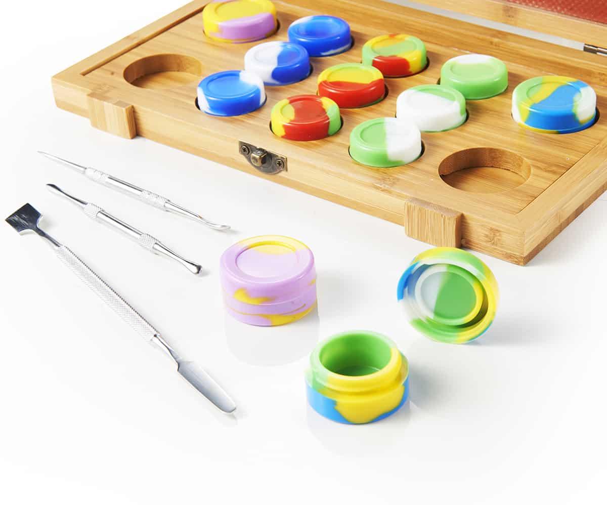 Bamboo Dab Collection Tools Kit