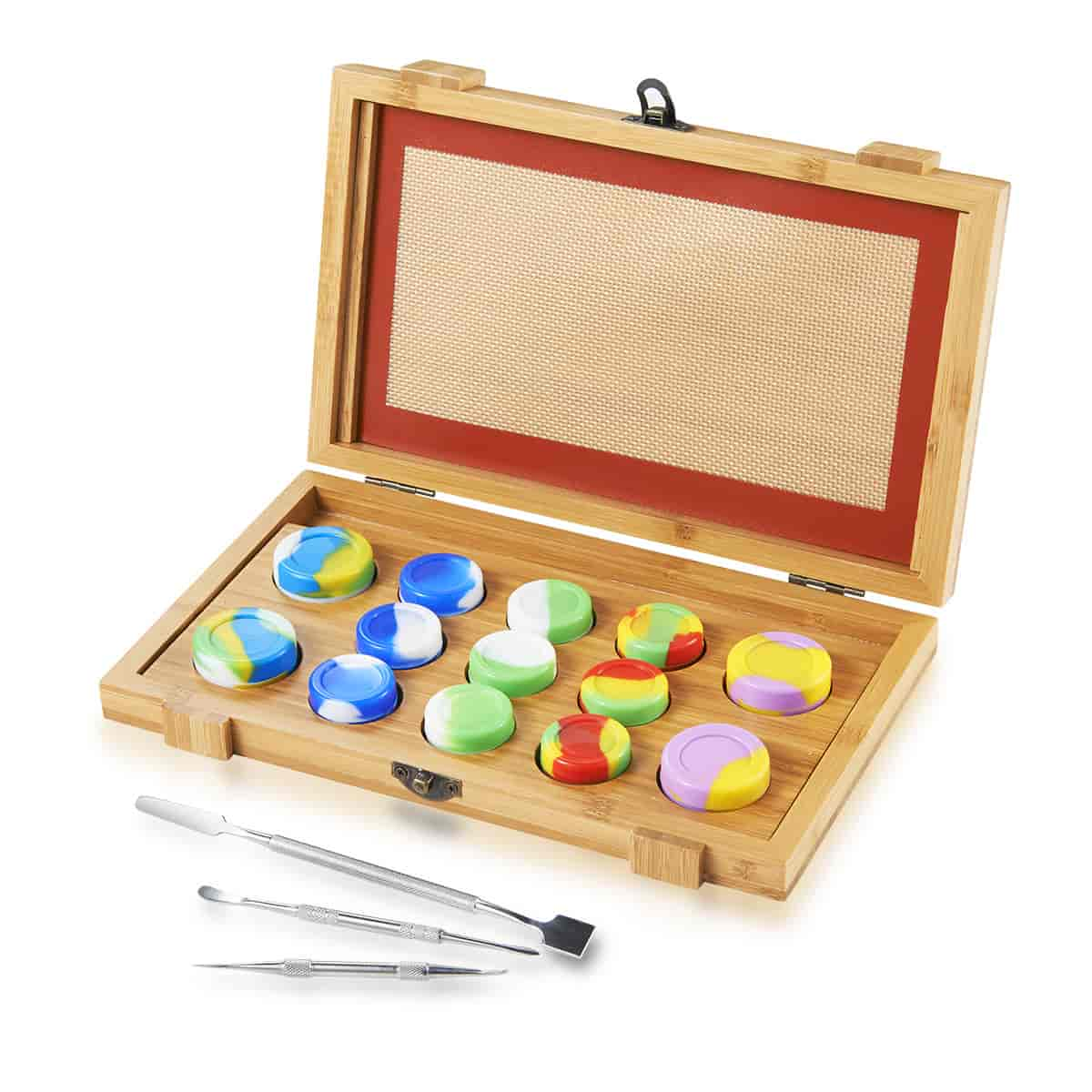 Bamboo Dab Collection Tools Kit