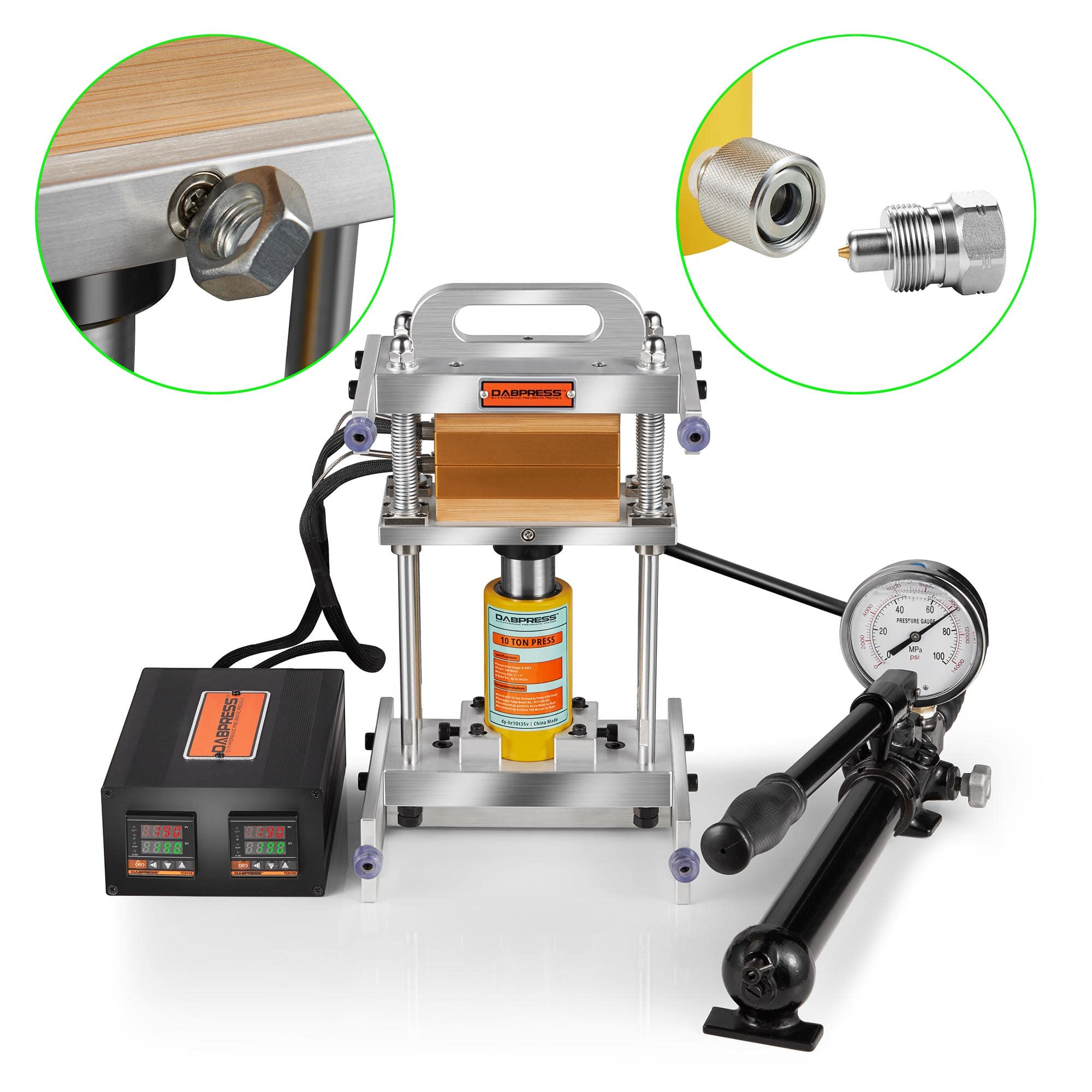 10 Ton | Driptech Rosin Heat Press